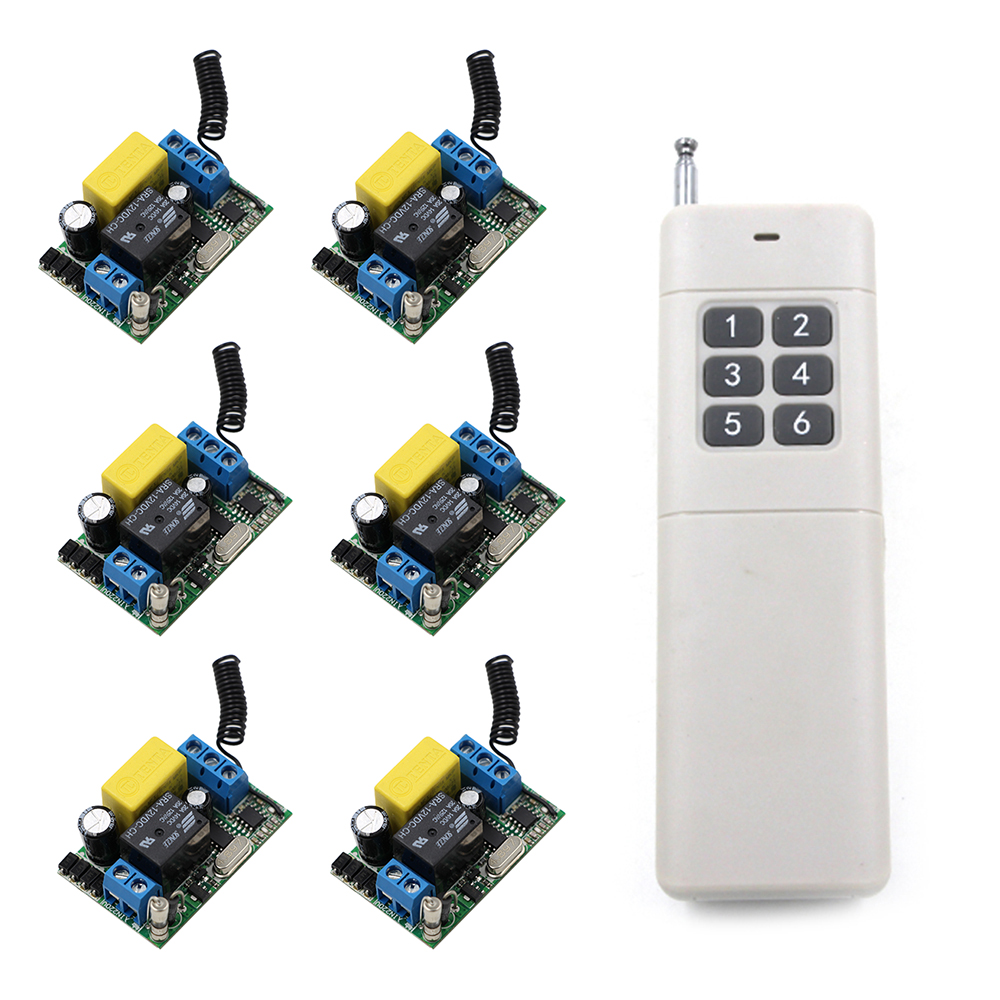 Wireless Remote Switch Remote Control Switch AC 220V 1CH Relay Module 3000M Long Range RF Wireless Remote Control Switch System brand 2 channels acoustic remote control switch box 220v 10a relay wireless remote switch app android