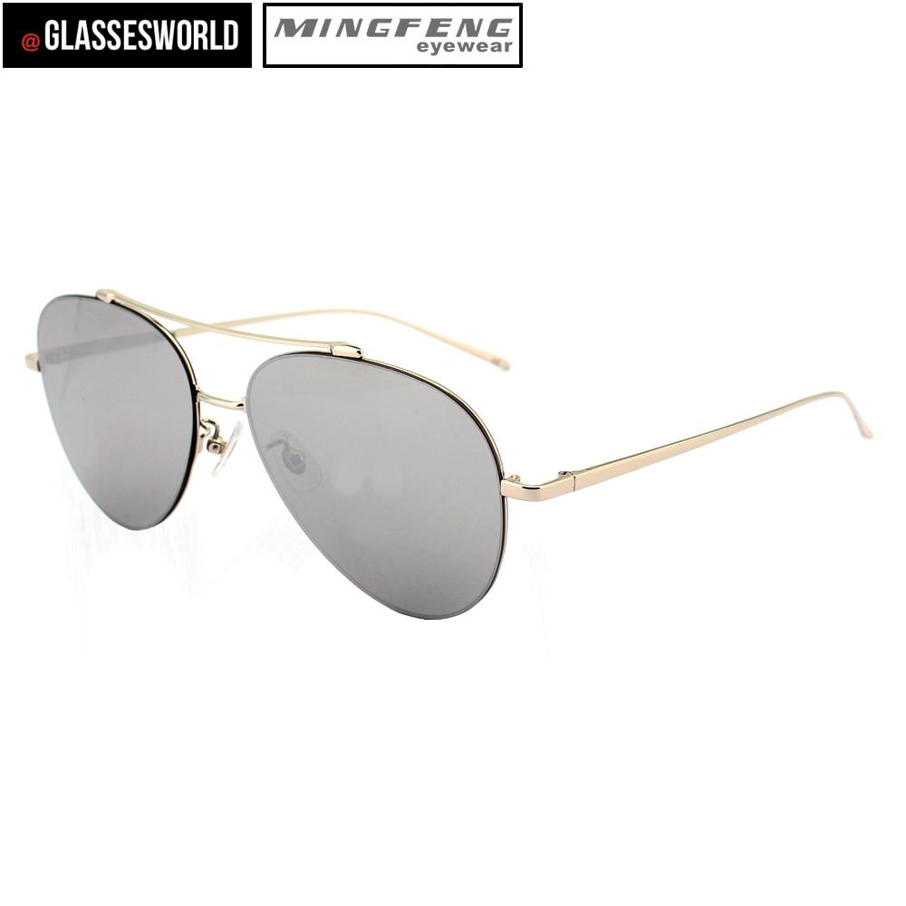 Kostenloser M1622 Mode Versand Metall Von Sonnenbrille Gold Unisex UUPYrw
