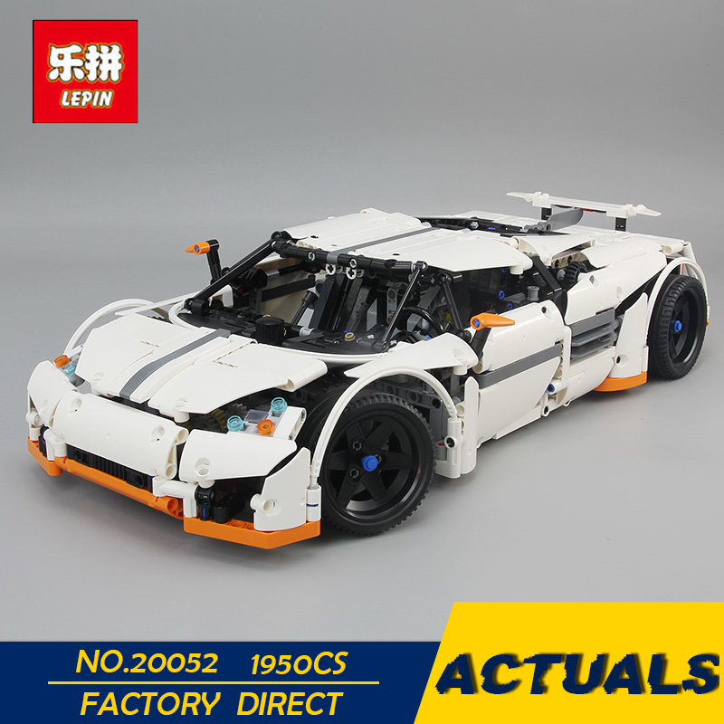 LEPIN 20052 1950Pcs Technic Serie The Predator Supercar Set MOC-2811 lepin Building Block Bricks Birthday Christmas Toy Gift lepin 20052 the predator supercar set moc 2811 diy building blocks bricks children educational toy christmas gift lepin technic