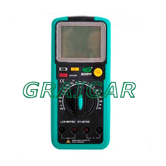Compteur LCR DY4070G, DY6243G, DY6013G