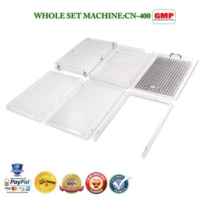Image 2 - CN 400 000# 5#  manual capsule filler capusle filling machine encapsulation with 400 holes