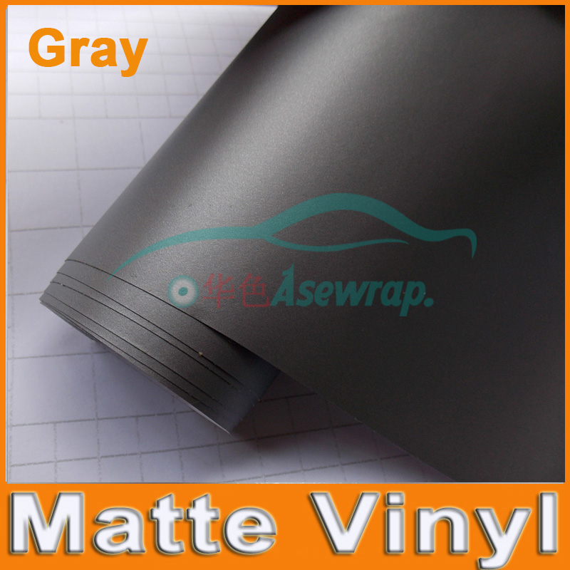 High quality matt Black Vinyl Film car wrap sticker many color option with size 5m/10m/15m/20m/30m  bubble free FREE SHIPPING high quality wholesale 100m lot 2 3mm el wire with 10 colors for option free shipping