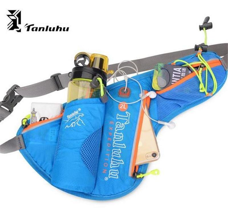 TANLUHU Hydration Waist Fanny Pack Marathon Running Belt Trail Run Sport Bag Men Women Racing Jogging Hiking