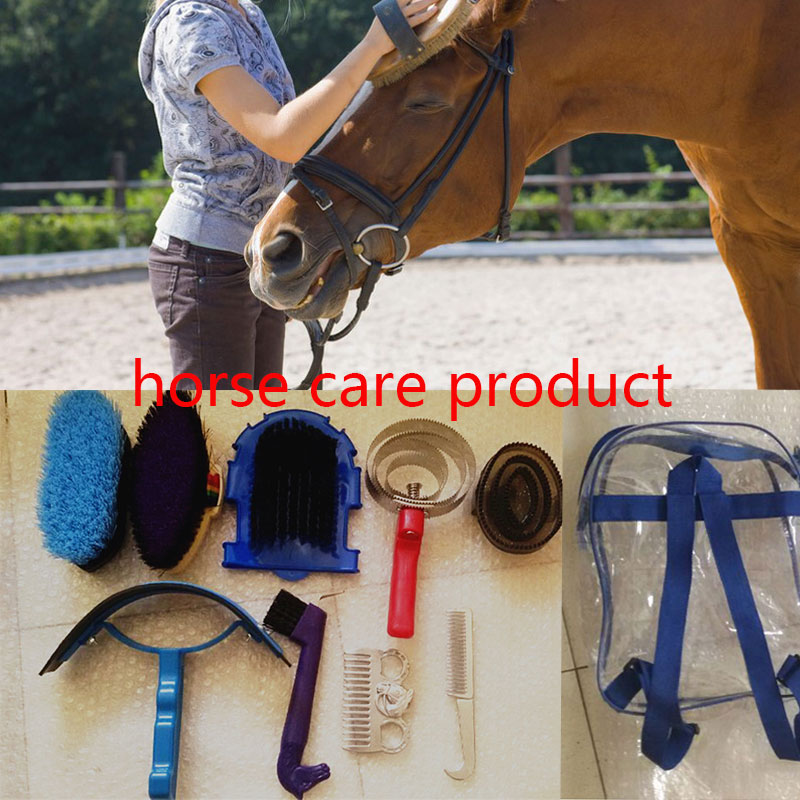 MOYLOR Horse Cleaning Tool 10 Pcs/lot Horse Riding Racing Equipment Horse Massage Brush Paardensport Equitation Cheval A $