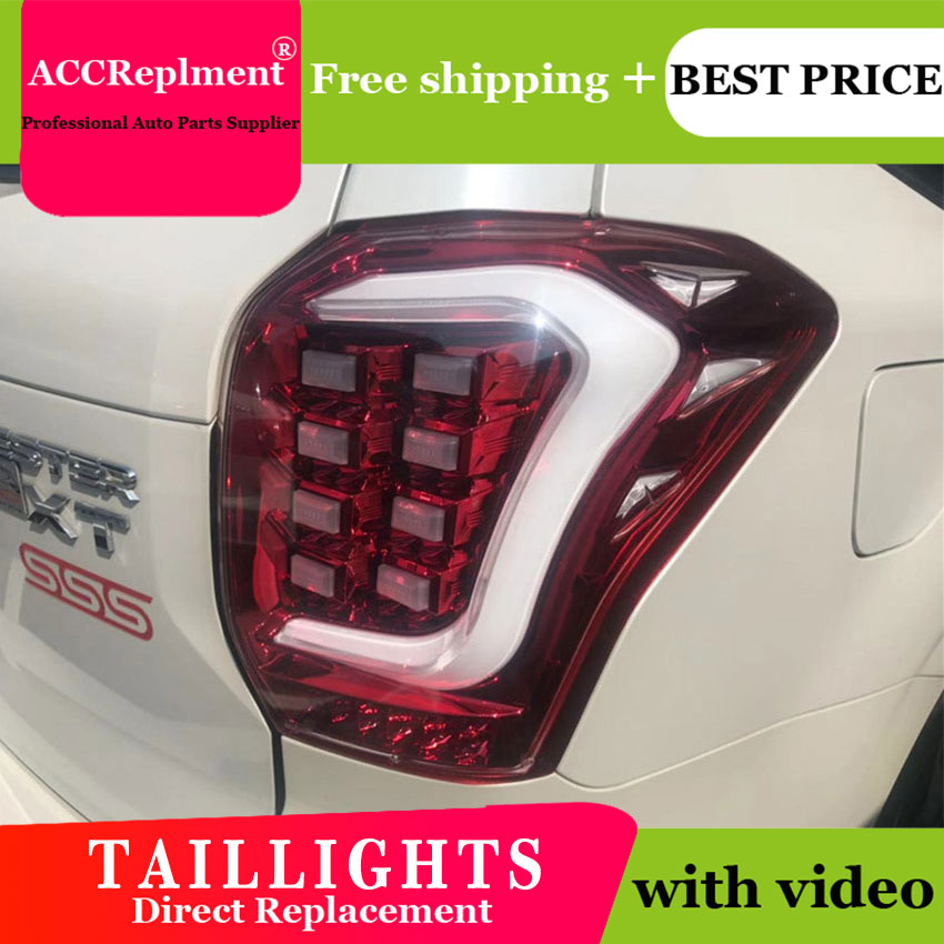 AUTO.PRO 2014 2018 for Subaru Forester led taillights for Forester LED rear lights car styling trunk lamp parking