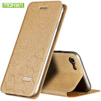For Apple Iphone7 Case Cover Luxury Brand Mofi Flip Leather Case For Iphone 7 7 Plus