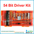 Jakemy JM-8126 54 Bit Driver Kit screw driver Multi-Fundction 58 in 1 screwdriver set repair kit opening open tools
