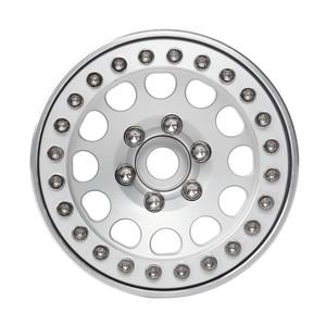 Image 4 - INJORA 4Pcs 알루미늄 합금 1.9 비드 록 휠 림 1/10 RC 크롤러 축 SCX10 SCX10 II 90046 AXI03007 Traxxas TRX4 D90