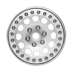 Image 4 - INJORA 4Pcs Aluminum Alloy 1.9 Beadlock Wheels Rims for 1/10 RC Crawler Axial SCX10 SCX10 II 90046 AXI03007 Traxxas TRX4 D90