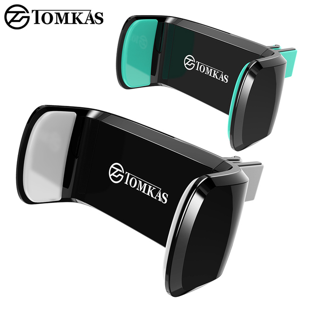TOMKAS Car Phone Holder for iPhone 6 Sumsung Air Vent Mount Car Holder 360 Degree Ratotable Universal Mobile Car Phone Stand
