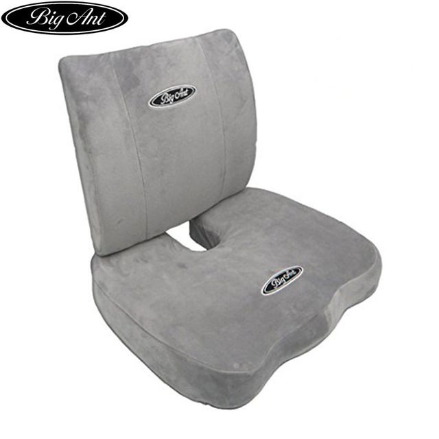 Ant Orthopedic Memory Foam Seat Cushion And Lumbar Support Pillow For Office Chair Car
