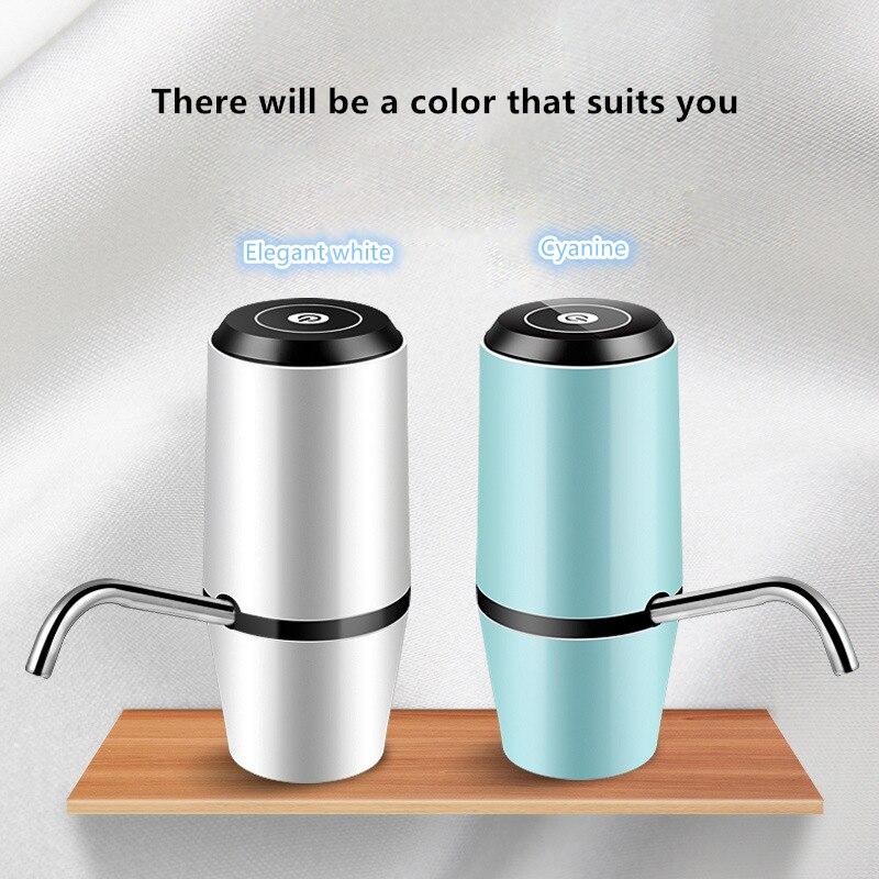 Kbxstart Touch Smart Dispensador De Agua USB Charge Electrical Water Dispenser Dual Pumps Fast Drink Dispenser For Gallon Bottle