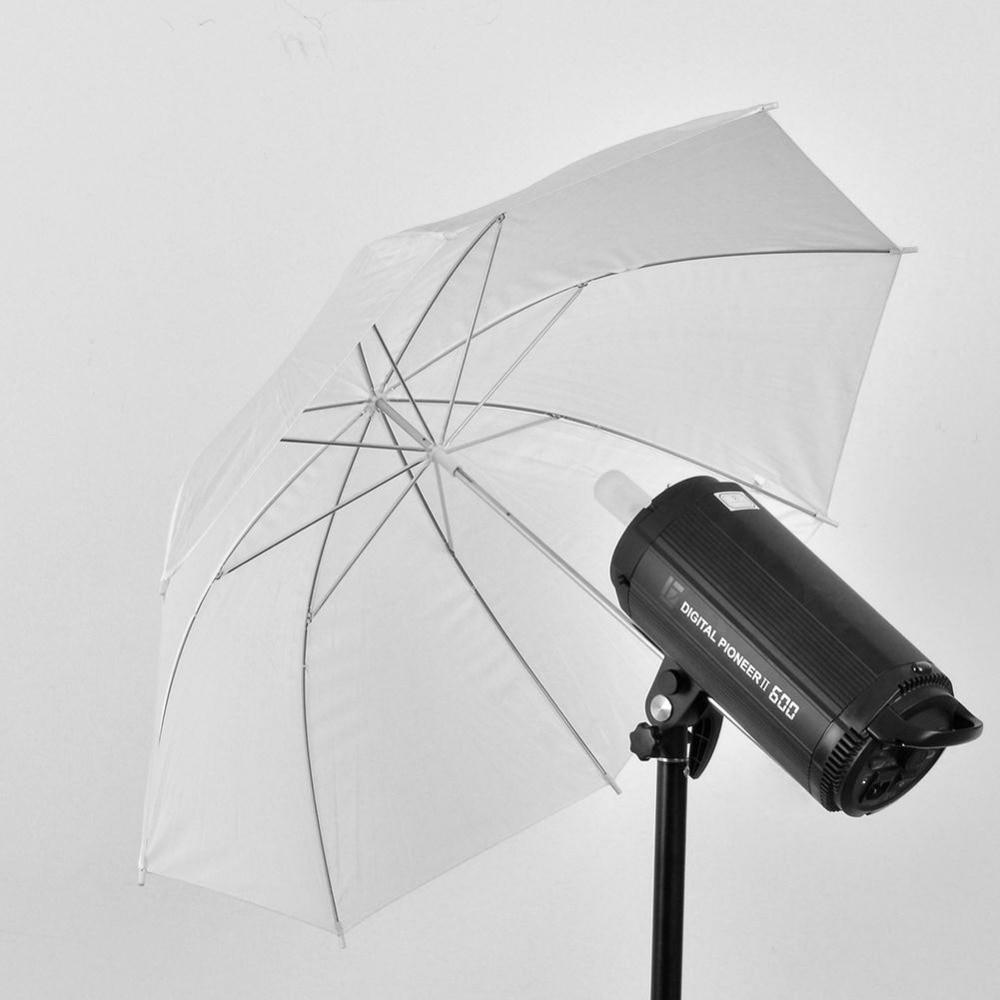 """2016 Câmera de Vídeo Estúdio De Fotografia Guarda-chuva Suave 33 """"Polegadas 83 cm Fotografia Pro flash de Iluminação Branco Translúcido de Alta Qualidade nova"""