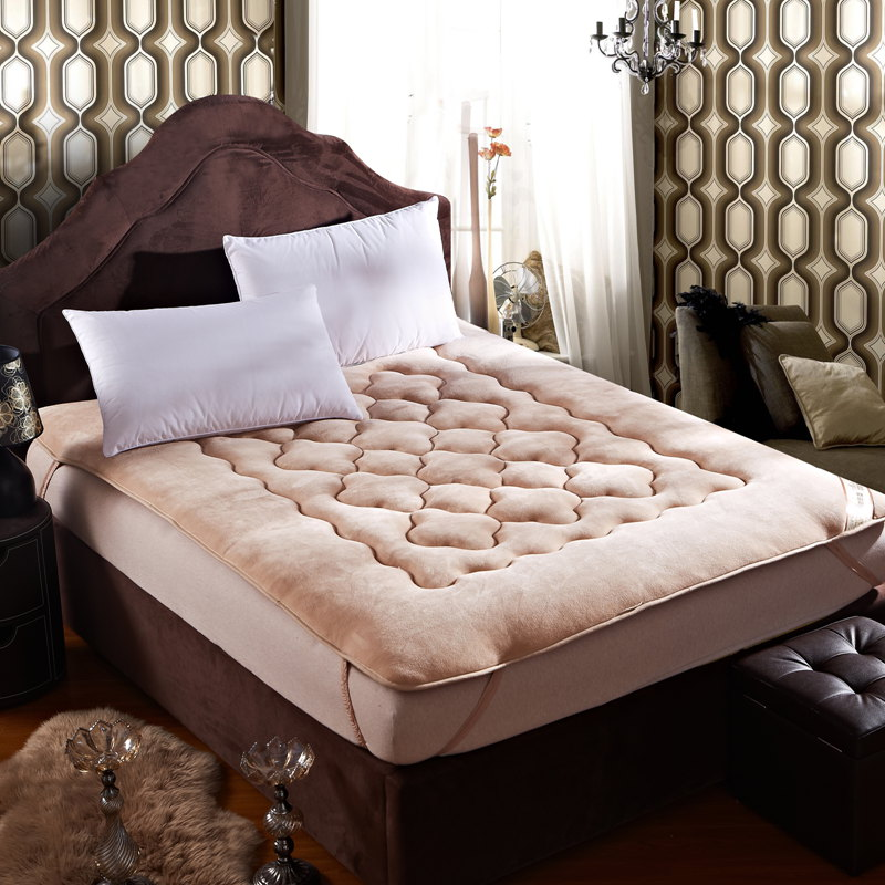highquality flannel mattress linens fitted sheets polyester fiber mat folding bed pad sheet tatami seat mat protector cover - Tatami Bed