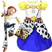 8404091f4533 Película juguete historia 4 Jessie del vestido del traje de Cosplay juguete  historia uniforme traje de Cosplay disfraces de Hall.