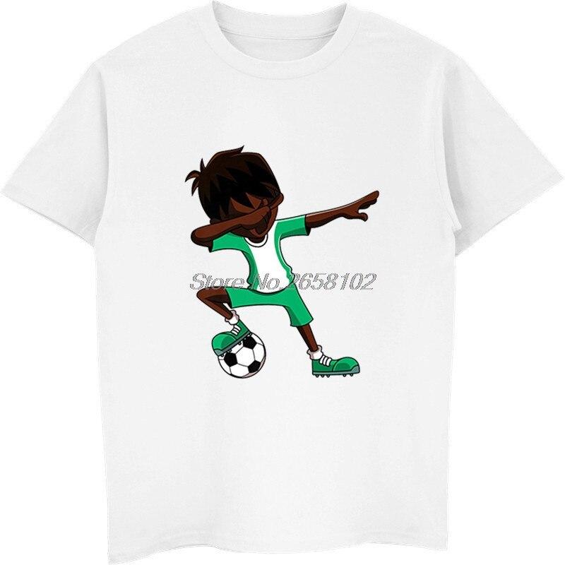 5df7358ec Detail Feedback Questions about New Summer Men 100% Cotton T shirt Cool  Dabbing Soccers Boy Jersey Shirt