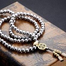 Персональная защита инструмент самообороны Будда бусины цепочки и ожерелья цепи ювелирные изделия кнут Открытый самообороны инструменты