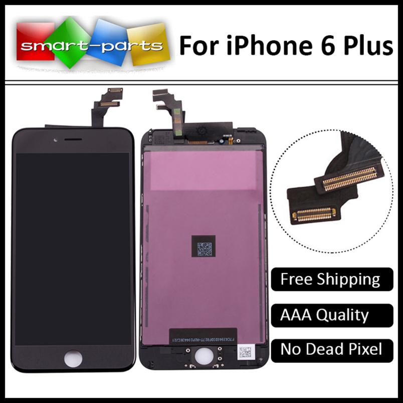 """Prix pour Pour apple iphone 6 plus lcd digitizer assemblée pièces de rechange, 5.5 """"Grade AAA Pas de dead pixel tactile affichage écran"""