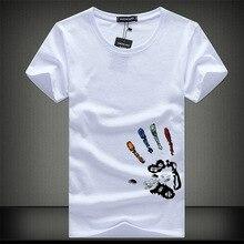 Новинка, мужские футболки, модная летняя Приталенная футболка с круглым вырезом и коротким рукавом, Мужская брендовая одежда из мерсеризованного хлопка, повседневная мужская футболка