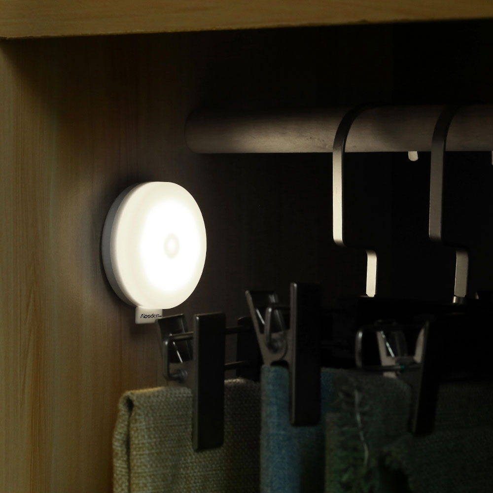 Small Hallway Lights: LED Dimmable Night Light Rechargeable Bathroom Small