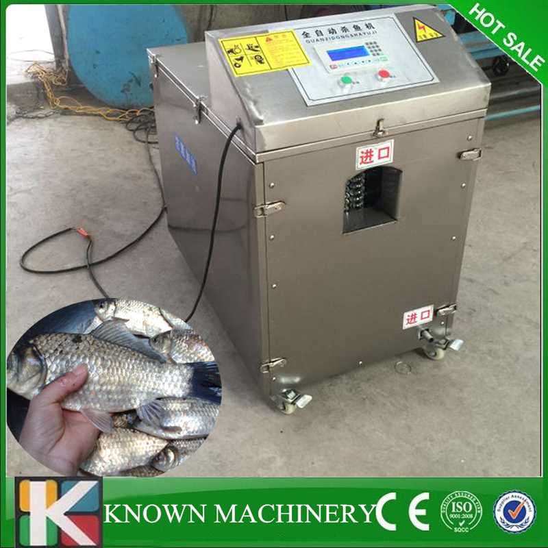 High production efficiency fish cleaning electric fish scaler fish killer maker machine free shipping
