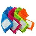 4 шт. Замена колодок для плоского мопа, швабры для уборки полов pad, синели плоским швабры замена заправка, головы на пол швабры