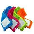 4 pcs Substituição pad para plana mop, mops chão almofada de limpeza, chenille plano mop cabeça substituição de recarga, cabeça para o chão mops
