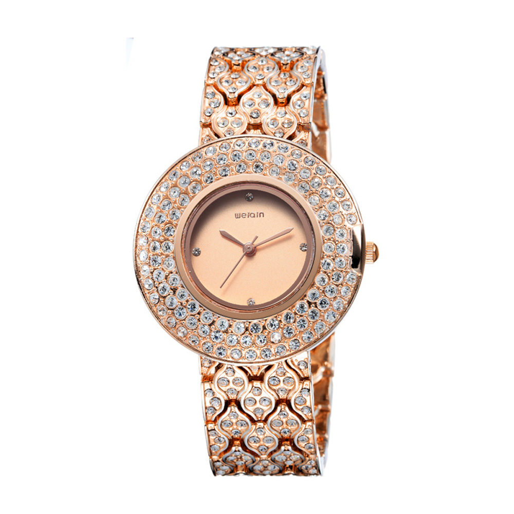 weiqin luxury gold womens watches bracelet