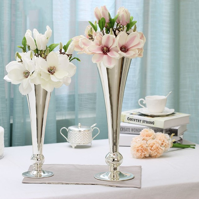 Flower tabletop Vase decorative flower vase decoration Home decoration Dining table decor vase mariage & Flower tabletop Vase decorative flower vase decoration Home ...