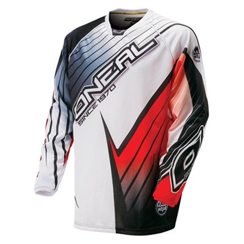 2018 Cycling Jersey Mountain Bike downhill manica lunga DH MX RBX MTB vestiti da corsa Off-road Motocross Jersey maillot hot