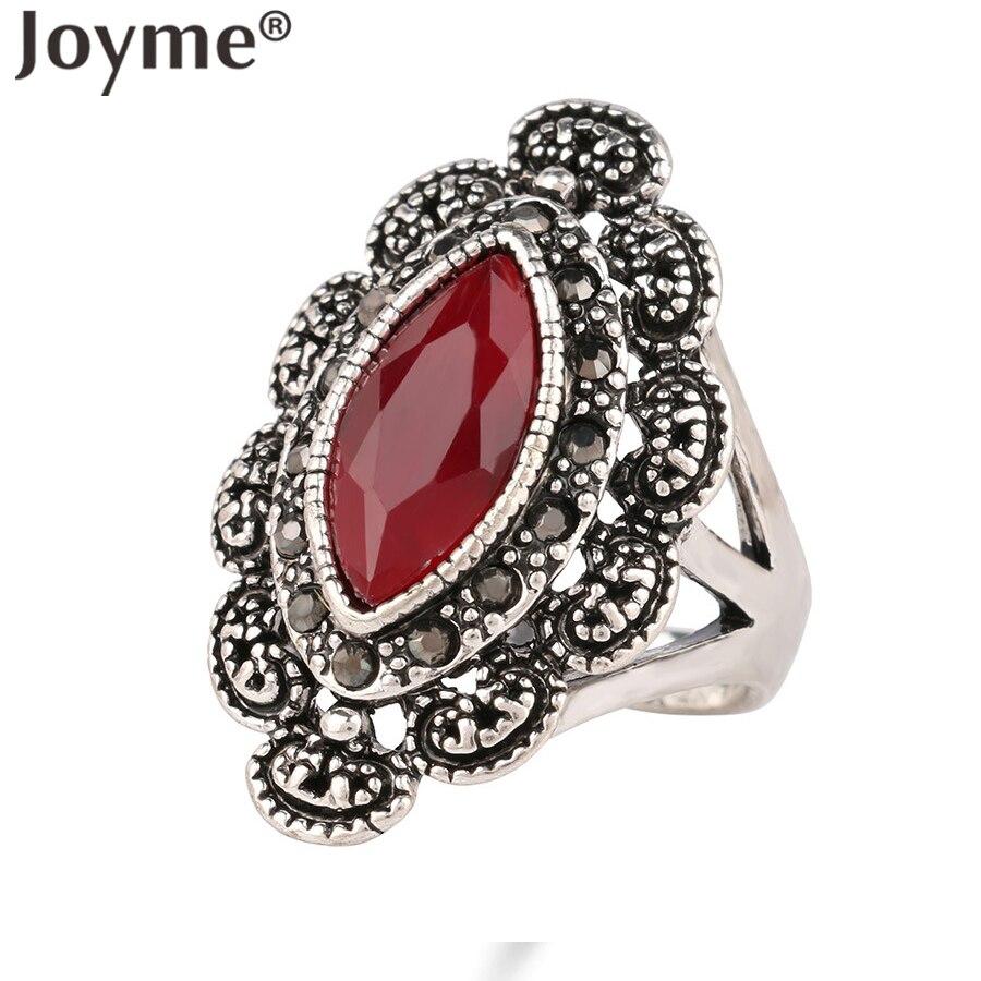 top designer indian jewelry punk black ring rhinestone silver plated eye engagement wedding rings for women dropshipping - Indian Wedding Rings