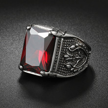 Fashion Men's Ring with Crystal