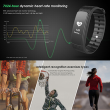 Waterproof IP67 Sport Smart Watch I3Hr, Heart Rate Monitor, Pedometer, Touch Screen Wristband for iOS & Android