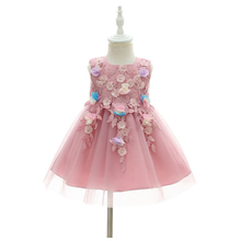 IYEAL Flower Princess Baby Dress for Infant Little Girl