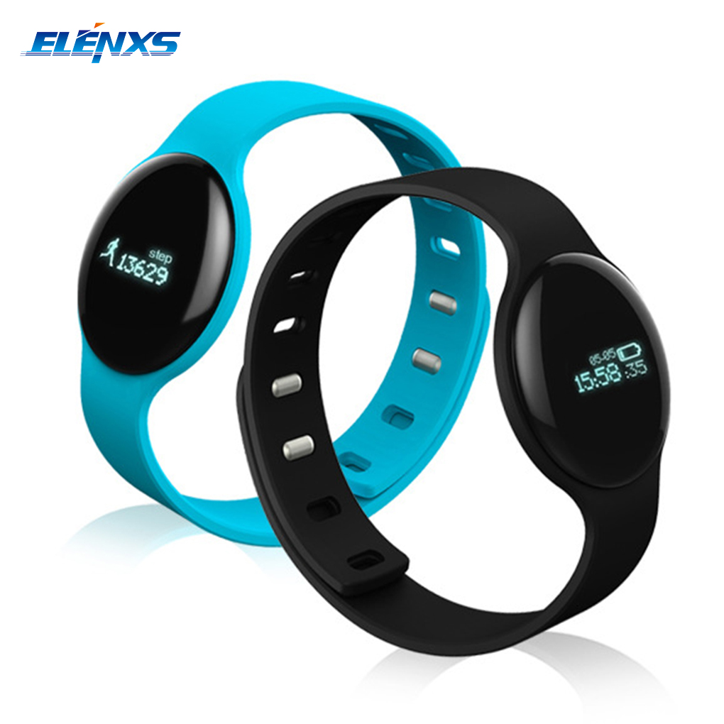H8 Bluetooth 4 0 Health Monitoring Alert Smart Bracelet Wristbands Sports Smart Watch for Android IOS