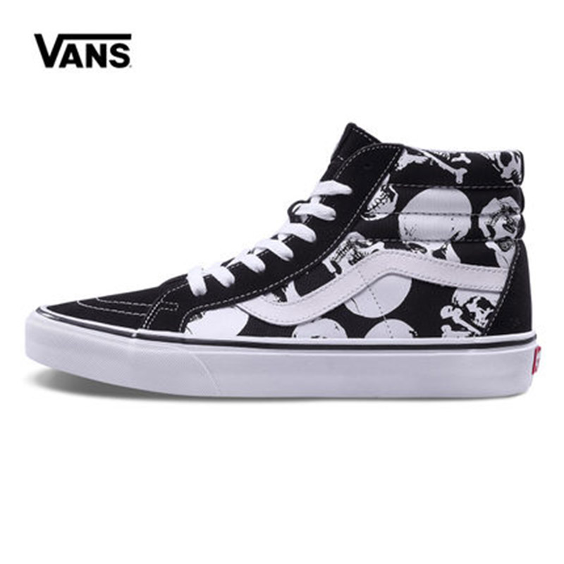 Original New Arrival Vans Men's & Women's Classic Sk8-Hi Reissue Skateboarding Shoes Sneakers Canvas Comfortable VN0A2XSBH0B
