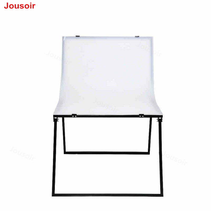 Photo Studio Accessories Shooting Table Ng-066 100*66cm Foldable Photography Table Life Shooting Table With Black And White Background Paper Cd50 T01 Pleasant In After-Taste
