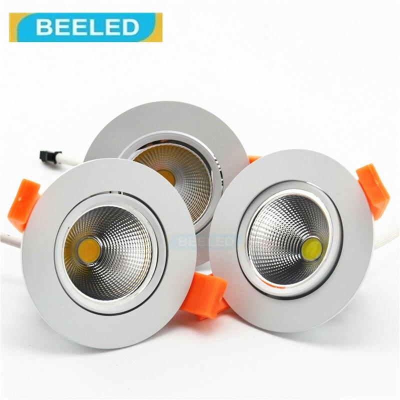 led downlight 3W 5W 7W Recessed LED Spot Light led lamp COB led bulb lamps home decorati ...