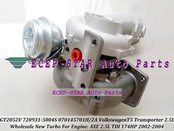 Бесплатная доставка 720931 720931-0004 720931-0002 070145701H 070145701HX 070145701HV турбо для Volkswagen VW T5 Transporter 02-AXE 2.5L
