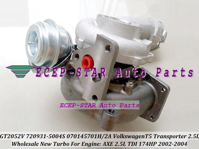 Free Ship 720931 720931-0004 720931-0002 070145701H 070145701HX 070145701HV Turbo For Volkswagen VW T5 Transporter 02- AXE 2.5L