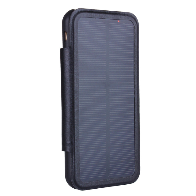 save off c1887 7fd06 US $18.23 24% OFF GOLDFOX 3000/5000mAh Solar Back Clip Solar Charger  Battery Charger Case Cover for iphone 8 6 6s 7s 7 Plus Energy Case Power  Bank-in ...