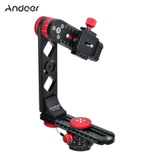 Andoer 720 Degree Panoramic Head Aluminium Alloy with Ball Head Quick Release Plate Carry Bag for Nikon Canon Sony DSLR Camera