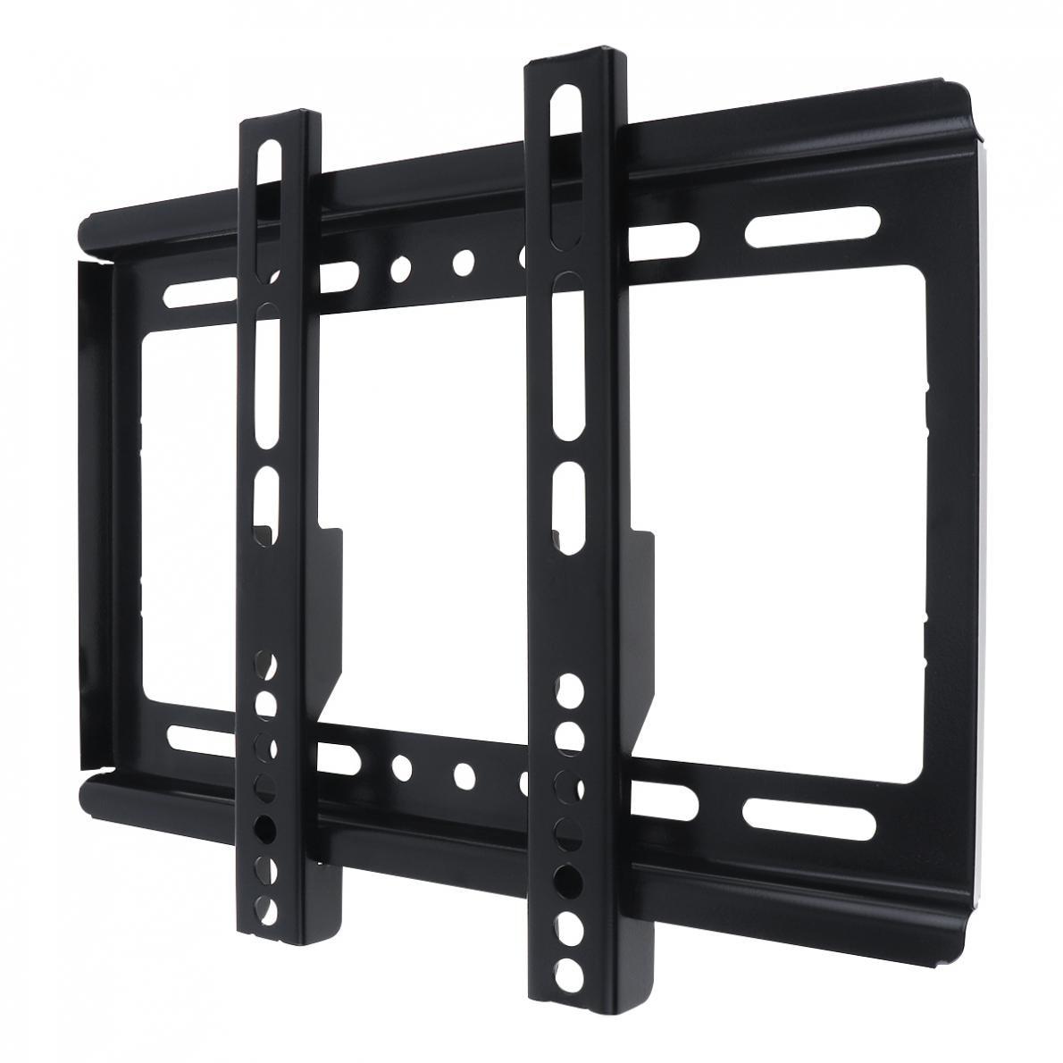 Image 5 - Универсальный тонкий 25кг 14 42 дюймовый настенный кронштейн для телевизора плоская панель Рамка для телевизора с градиентом для ЖК дисплея светодиодный плоский мониторКронштейны для ТВ    АлиЭкспресс