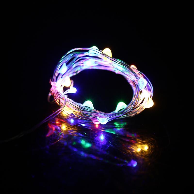 2M 20LED String Lights Fair String Light for Glass Craft Bottle Party Wedding Festival Christmas Decorative Lights guirlande led in Lighting Strings from Lights Lighting