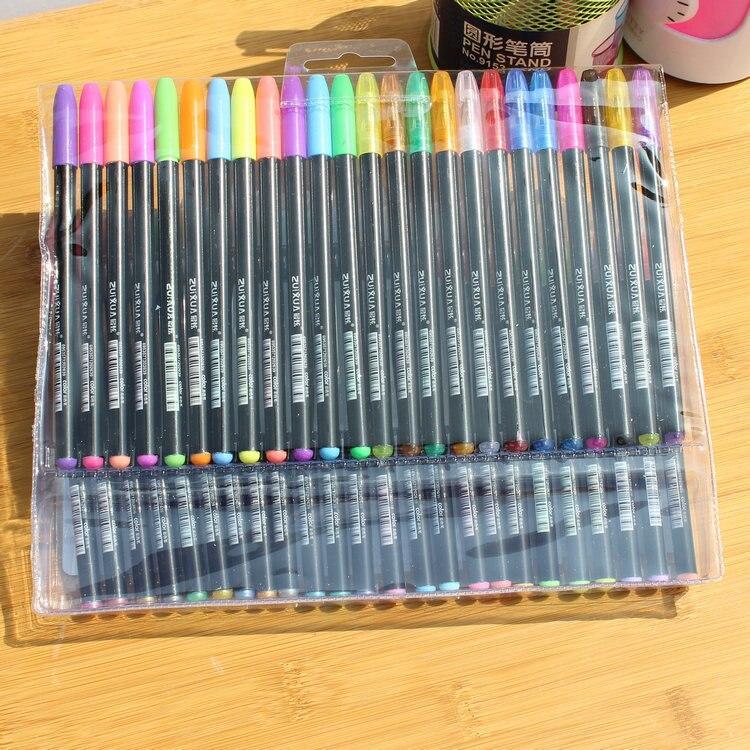 48 түсті жиынтық түрлі-түсті гель - Қаламдар, қарындаштар және жазба құралдары - фото 2