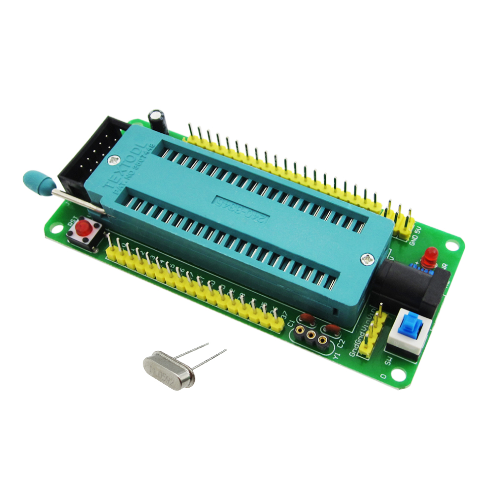 51 avr mcu minimum system board development board learning board stc minimum system board microcontroller programmer цена