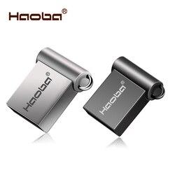 Moda Super Mini metal usb flash drive GB 8 4 GB 32 GB 64 16 GB pen Drive GB usb cle usb 2.0 flash vara frete grátis pendrive
