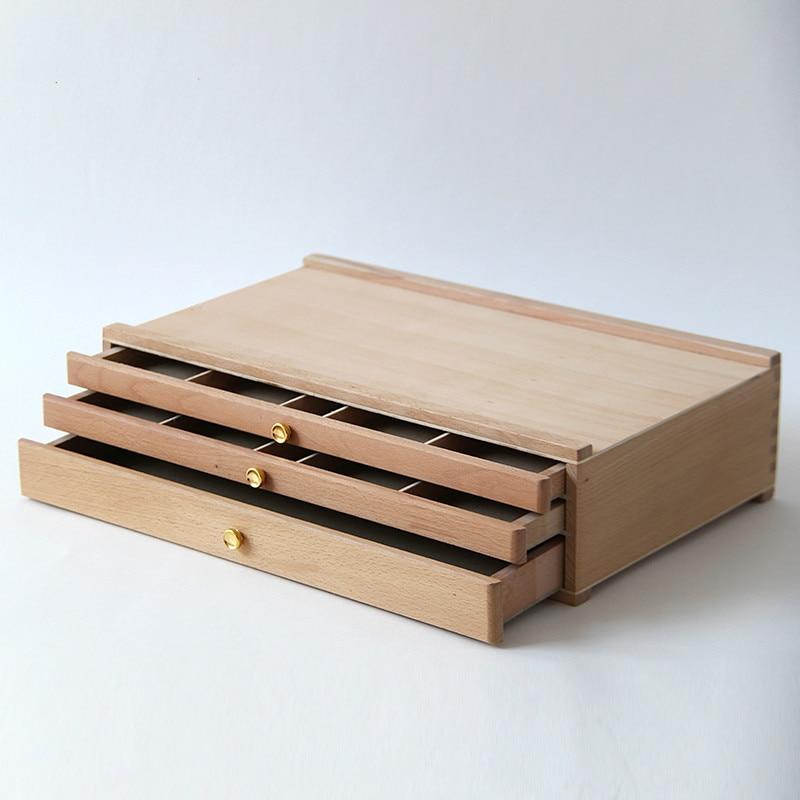 Künstler Holz Staffelei für Malerei mit Schublade Tisch Box Portable Desktop Malerei Staffelei Koffer Malerei Hardware Kunst Liefert-in Staffeleien aus Büro- und Schulmaterial bei  Gruppe 1