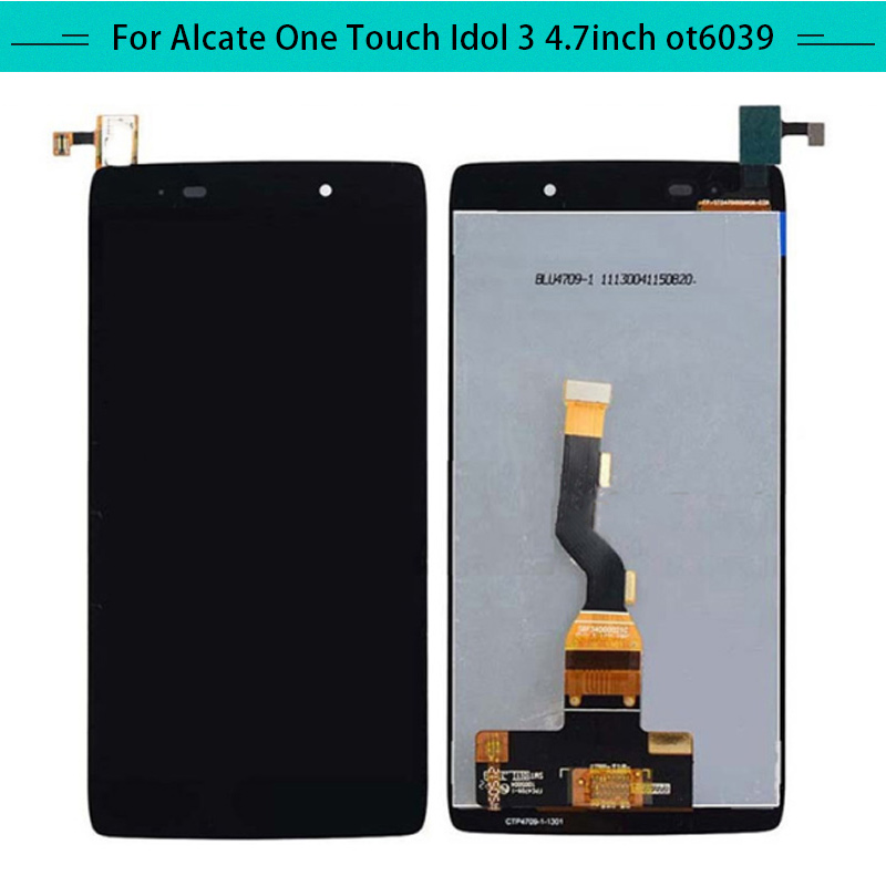 For Alcatel Idol3 6039 6039A 6039K 6039Y Full LCD Display Assembly Complete Digitizer with touch Screen Free Shipping-in Mobile Phone LCD Screens from Cellphones & Telecommunications on AliExpress - 11.11_Double 11_Singles' Day 1