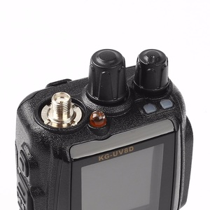 Image 2 - WOUXUN KG 8D בתוספת דו דרך רדיו דיגיטלי Dual Band משדר 999 זיכרון ערוצים UHF/VHF מכשיר קשר חזיר צבע מסך רדיו